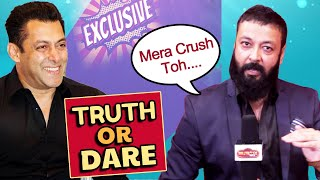 Truth Or Dare With Dabangg 3 Actor Santosh Shukla | Crush, Girlfriends And More
