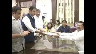 Maharashtra CM Devendra Fadnavis files nomination papers from Nagpur South West seat