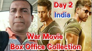 War Movie Box Office Collection Day 2 In India