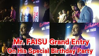 Mr. FAISU Grand Entry On His Special Birthday Party - Team 07