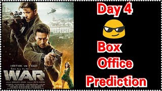 War Movie Box Office Prediction Day 4