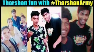 Tharshan fun with fans |Tharshan TikTok Collection after Bigg Boss