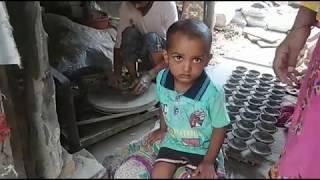Delhi Potter's story... चाइनीज़ बाजार के एक छत्र राज से कुम्हारों की शिल्पकारी को खत्म ।