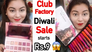 Club Factory Diwali Sale - Huda Beauty Makeup, Earrings | JSuper Kaur