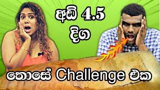 Dosa challenge with Sri Sai Bhavan