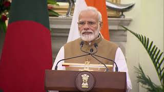 PM Modi and PM Hasina of Bangladesh launch various joint development projects | PMO