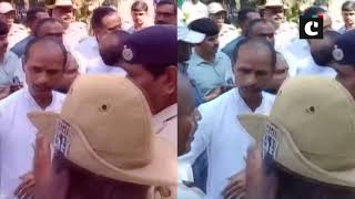 Karnataka CM's son-in-law gets into argument with police