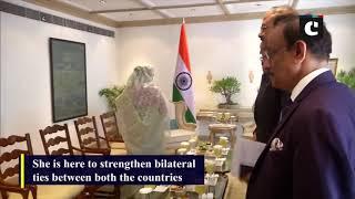 Bangladesh PM Sheikh Hasina meets EAM S Jaishankar