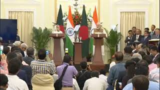 PM Shri Narendra Modi and Bangladesh PM Sheikh Hasina launch various projects
