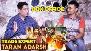 WAR Vs Sye Raa Narasimha Reddy   Trade Expert Taran Adarsh   BOX OFFICE   Hrithik Tiger Chiranjeevi