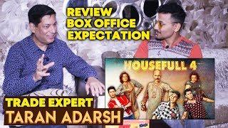 HOUSEFULL 4 Trailer Reaction | BOX OFFICE | Trade Expert Taran Adarsh Reaction | Akshay Kumar