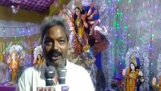 Okha: Good start of nine Durga Puja by Navadurga Seva Samiti| ABTAK MEDIA