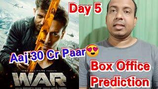 War Movie Box Office Prediction Day 5