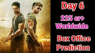 War Movie Box Office Prediction Day 6