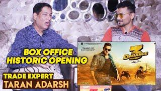 DABANGG 3 Box Office Reaction By Trade Expert Taran Adarsh | Salman Khan