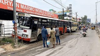 TS RTC strike continues CM KCR and transport minister want to workers report should be 6 o'clock