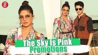Priyanka Chopra and Rohit Saraf look amazing at 'The Sky Is Pink' promotions