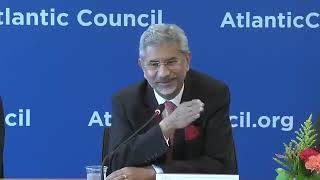 EAM's remarks at Atlantic Council, Washington D.C.
