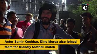 MS Dhoni, Arjun Kapoor play football match on weekend in Mumbai