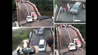 Gujarat: Bridge collapses in Junagadh, 12 people reportedly injured