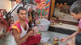 Pota Pokhari Parda | Durga Puja Mandap | Cuttack, Odisha | Satya Bhanja