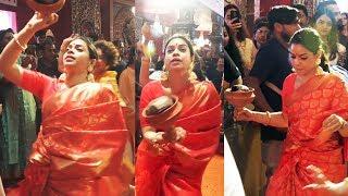 Sumona Chakravarti TRADITIONAL DANCE At North Bombay Sarbojanin Durga Puja 2019