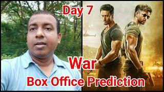 War Movie Box Office Prediction Day 7