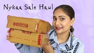 All Over The Place Nykaa Sale Haul + Profusion Palette Review/First Impression | Nidhi Katiyar