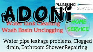 ADONI     Plumbing Services ~Plumber at your home~ Bathroom Shower Repairing ~near me ~in Building