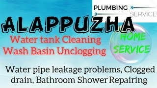 ALAPPUZHA     Plumbing Services ~Plumber at your home~   Bathroom Shower Repairing ~near me ~in Buil