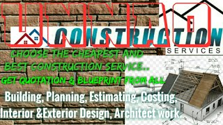UNNAO     Construction Services ~Building , Planning,  Interior and Exterior Design ~Architect  1280