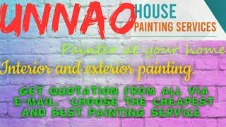 UNNAO    HOUSE PAINTING SERVICES ~ Painter at your home ~near me ~ Tips ~INTERIOR & EXTERIOR 1280x72