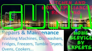 GUNA    KITCHEN AND HOME APPLIANCES REPAIRING SERVICES ~Service at your home ~Centers near me 1280x7