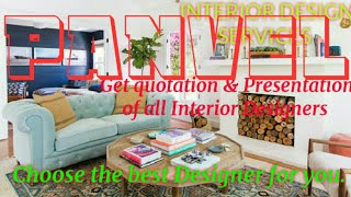 PANVEL     INTERIOR DESIGN SERVICES ~ QUOTATION AND PRESENTATION~ Ideas ~ Living Room ~ Tips ~Bedroo