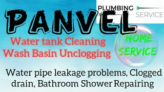 PANVEL   Plumbing Services ~Plumber at your home~   Bathroom Shower Repairing ~near me ~in Building