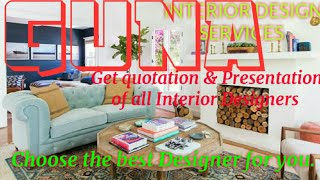 GUNA    INTERIOR DESIGN SERVICES ~ QUOTATION AND PRESENTATION~ Ideas ~ Living Room ~ Tips ~Bedroom 1