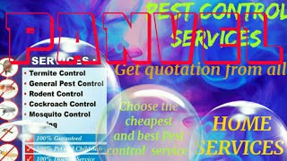 PANVEL     Pest Control Services ~ Technician ~Service at your home ~ Bed Bugs ~ near me 1280x720 3