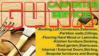 GUNA    Carpenter Services ~ Carpenter at your home ~ Furniture Work ~near me ~work ~Carpentery 12