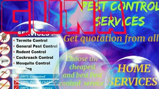 GUNA    Pest Control Services ~ Technician ~Service at your home ~ Bed Bugs ~ near me 1280x720 3 78M
