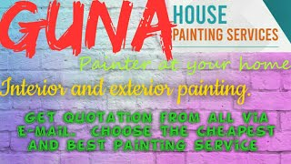 GUNA    HOUSE PAINTING SERVICES ~ Painter at your home ~near me ~ Tips ~INTERIOR & EXTERIOR 1280x720