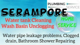 SERAMPORE     Plumbing Services ~Plumber at your home~   Bathroom Shower Repairing ~near me ~in Buil