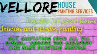 VELLORE    HOUSE PAINTING SERVICES ~ Painter at your home ~near me ~ Tips ~INTERIOR & EXTERIOR 1280x