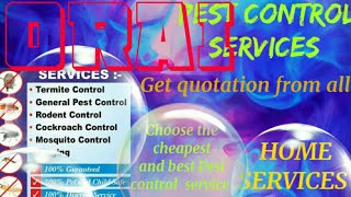 ORAI    Pest Control Services ~ Technician ~Service at your home ~ Bed Bugs ~ near me 1280x720 3 78M