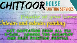 CHITTOOR     HOUSE PAINTING SERVICES ~ Painter at your home ~near me ~ Tips ~INTERIOR & EXTERIOR 128