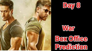 War Movie Box Office Prediction Day 8