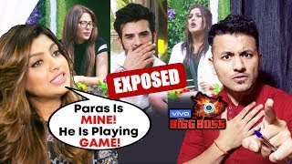 Paras Chhabra's Girlfriend Akanksha Puri EXPOSES His GAME PLAN | Bigg Boss 13 Update
