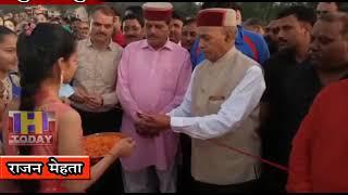 9 OCTN 4  सुजानपुर मैदान में 30 फीट का रावण दहन किया