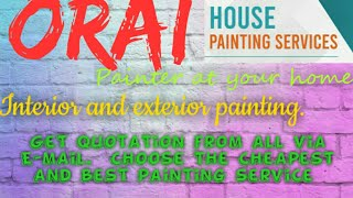 ORAI    HOUSE PAINTING SERVICES ~ Painter at your home ~near me ~ Tips ~INTERIOR & EXTERIOR 1280x720