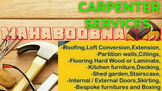 MAHABOOBNAGAR     Carpenter Services  ~ Carpenter at your home ~ Furniture Work  ~near me ~work ~Car
