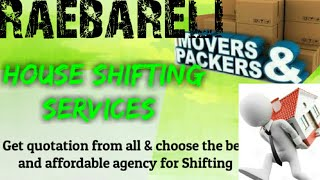 RAEBARELI     Packers & Movers ~House Shifting Services ~ Safe and Secure Service  ~near me 1280x720